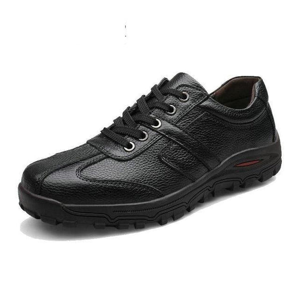 Genuine Soft Leather Fashion Handmade Men's Size 38-48 Oxford Shoes - SolaceConnect.com