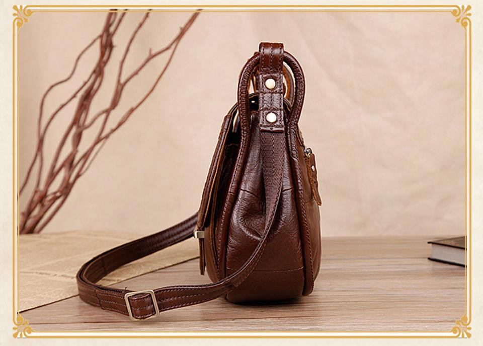 ... Cobbler Legend Brand Designer Women s Genuine Leather Vintage Single Shoulder  Bag Women - SolaceConnect.com ... 388256281d