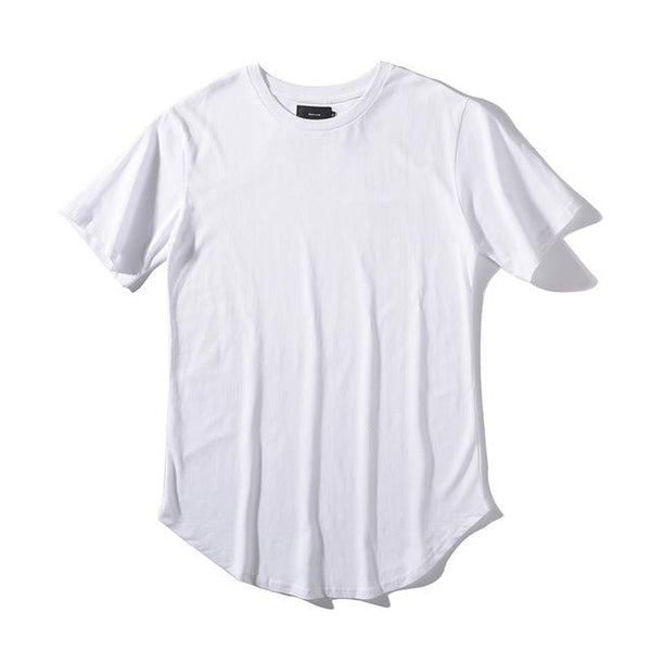 Fashion Summer Extended Hip Hop Oversized Tyga Kpop Swag Men's T-Shirt - SolaceConnect.com