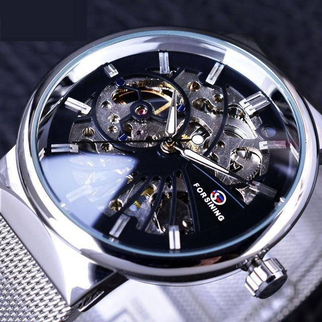 Fashion Thin Case Neutral Design Waterproof Men's Small Dial Watches - SolaceConnect.com