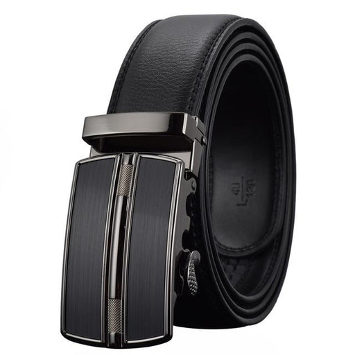WOWTIGER Men`s Fashion Automatic Buckle Leather luxury Designer Male belt Waist Strap Belts for - SolaceConnect.com