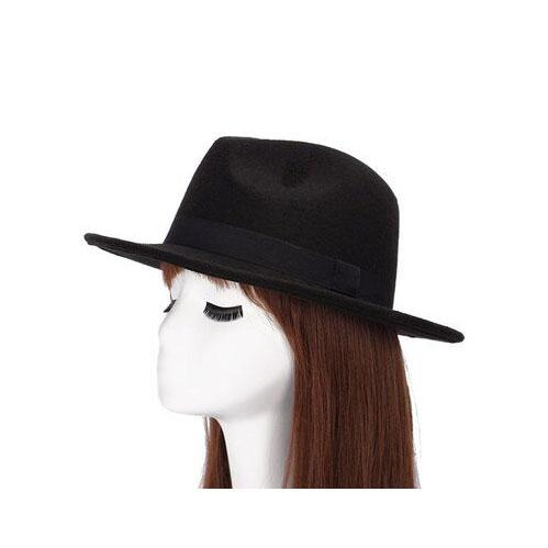 Spring Summer Pure Wool Felt Fedoras Hats Femme Cap for Women & Men - SolaceConnect.com