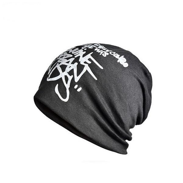 Double Layer Knitted Letter Hedging Skullie Cap for Men & Women - SolaceConnect.com