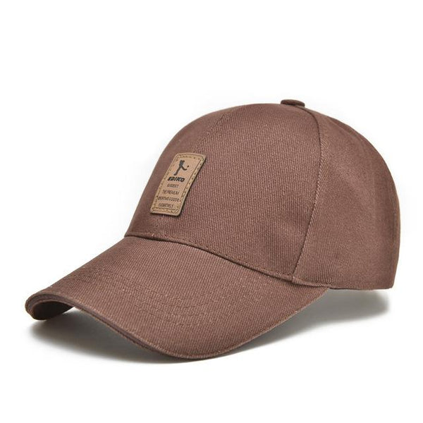 Casual Men's Solid Color Adjustable Dads Hats Baseball Caps for Summer - SolaceConnect.com