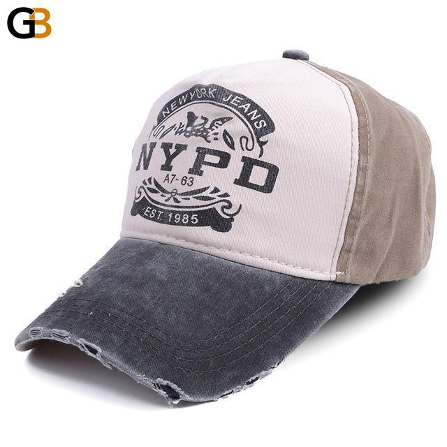 Cap Fitted Casual 5 Panel Hip Hop Unisex Snapback Wash Baseball Caps - SolaceConnect.com