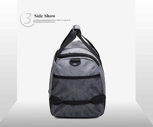 Scione Nylon Travel Bag Large Capacity Men Hand Luggage Travel Duffle Bags Nylon Weekend Bags - SolaceConnect.com