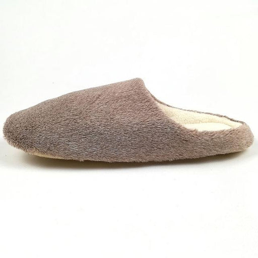 Autumn Winter Fashion Soft Sole Cotton Plush Warm Indoor Slippers for Men - SolaceConnect.com