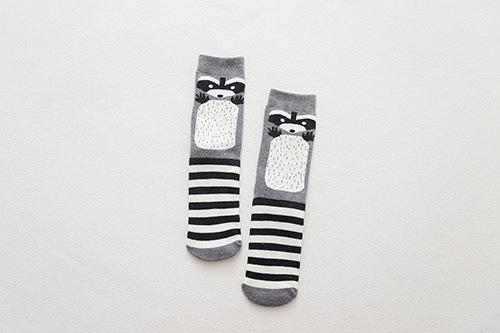 Cartoon Animal Paradise Women Thick Cute Funny Happy Art Christmas Socks High Quality - SolaceConnect.com