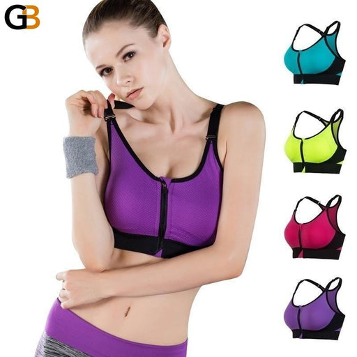 Women's Push Up Sports Bra Seamless Underwear Tank Top for Gym - SolaceConnect.com