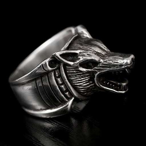 Authentic 925 Sterling Silver Retro Domineering Cool Tiger Ring for Men - SolaceConnect.com