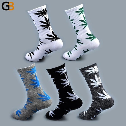 Cool Summer Bamboo Cotton Weed Unisex Funny Hemp Ankle Length Socks - SolaceConnect.com