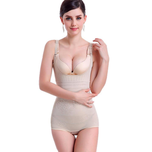 Women's Tummy Control Underbust Slimming Underwear Firm Shapewear - SolaceConnect.com