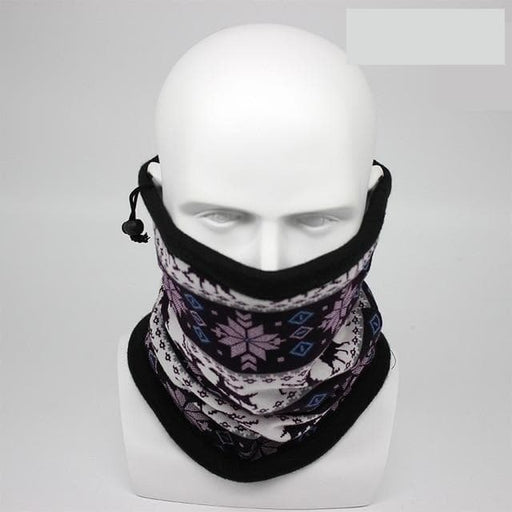 Winter Fashion Owl Bandana Scarf Unisex Camouflage Multifunction Headband - SolaceConnect.com