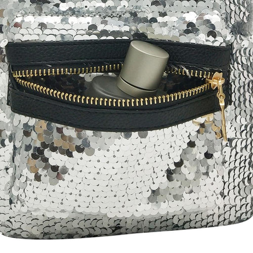 Mini Bling Shiny Sequins Cute Rabbit Ears Shoulder Backpack for Women Girls - SolaceConnect.com