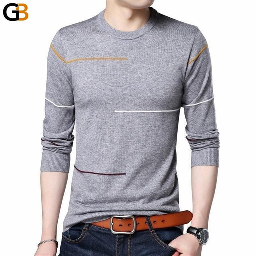 COODRONY Cashmere Wool Sweater Men Brand Clothing Autumn Winter Arrival Slim Warm - SolaceConnect.com