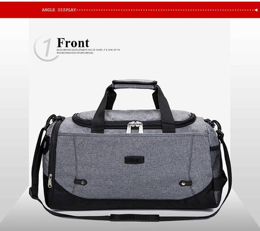 Durable Multifunction Sports Training Gym Handbag for Men & Women - SolaceConnect.com