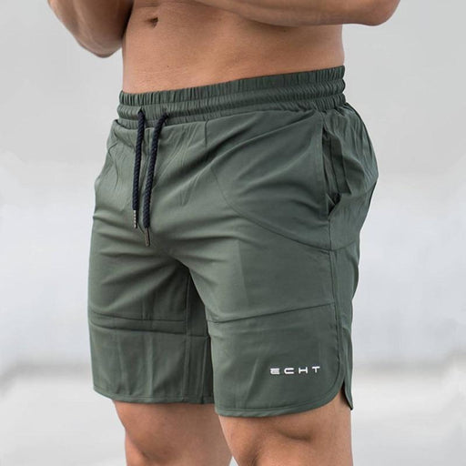 Men's Gym Fitness Bodybuilding Summer Quick-Dry Loose Drawstring Shorts - SolaceConnect.com