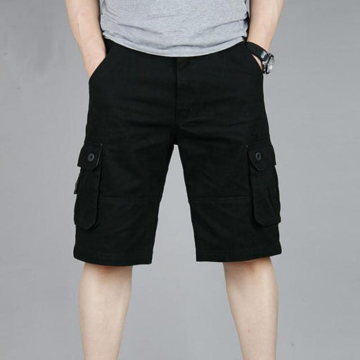 Men's Casual Summer Cargo Shorts Military Plus Size Sweatpants Joggers - SolaceConnect.com