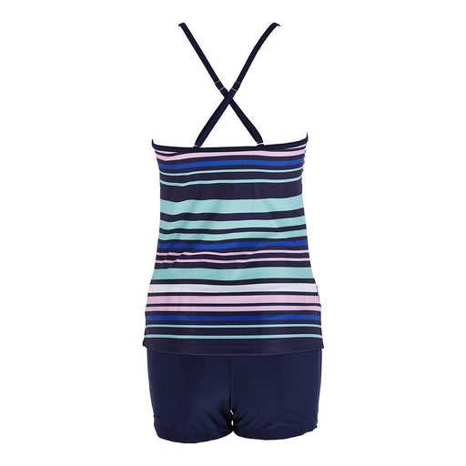 Tankini Two Piece Plus Size Swimsuit Women With Shorts High waist Swimwear Female Bathing - SolaceConnect.com