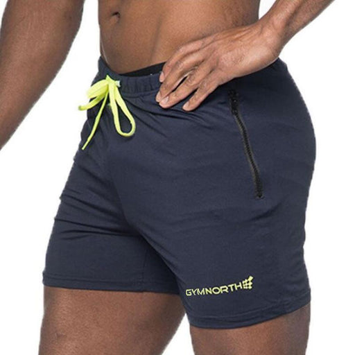 Men's Polyester Bodybuilding Breathable Summer Gym Fitness WorkoutShorts - SolaceConnect.com