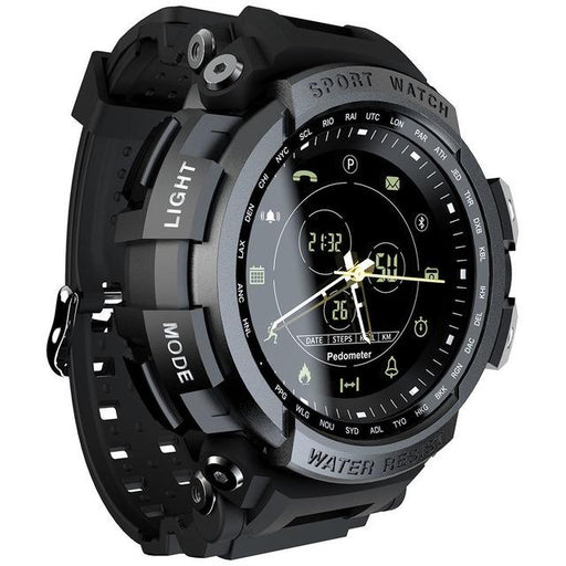 50 Meter Waterproof Sport Smartwatch with Bluetooth Call Remind for IOS - SolaceConnect.com