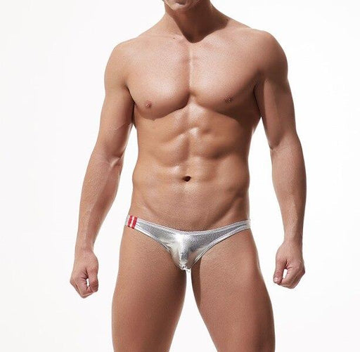 Sexy Tempt Men's Solid Low-waist Briefs Bikini Underpants Underwear - SolaceConnect.com