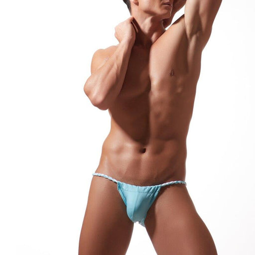 Men's Sexy Temptation Cotton Bikini Briefs Penis Pouch Underwear - SolaceConnect.com