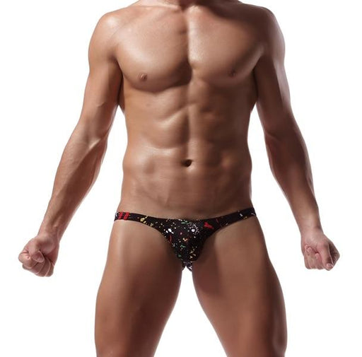 Sexy Fashion Men's Breathable Soft Cotton Briefs Hips Up Underwear - SolaceConnect.com