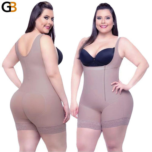 Full Body Slimming Underwear Corset Shaper for Women with Modeling Strap - SolaceConnect.com