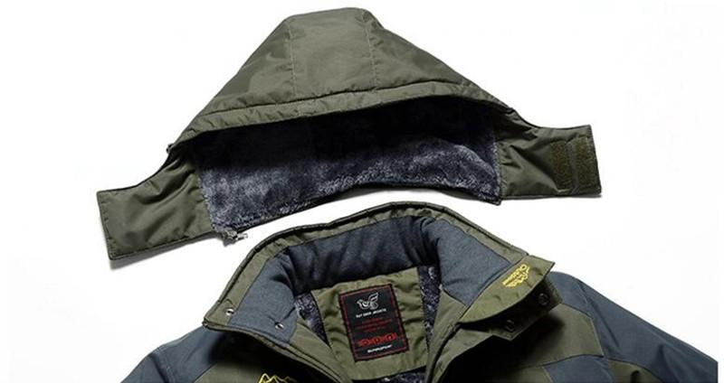2845bd8b8a3 ... 9XL Winter jackets pourpoint XL Plus size windproof coat Waterproof  Fleece thickening Big yards - SolaceConnect ...
