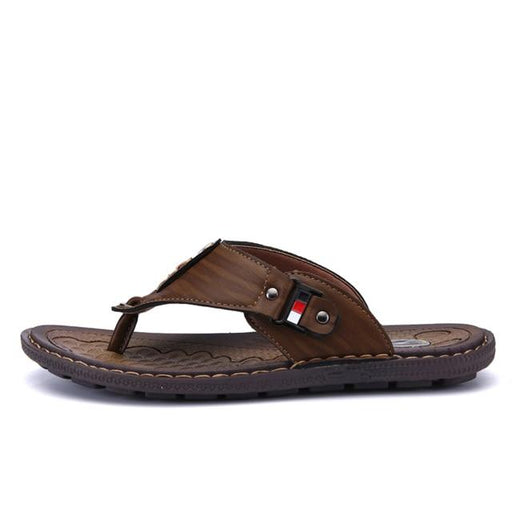 High Quality Summer Non-Slide Men's Flip Flop Beach Sandals - SolaceConnect.com