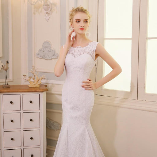 QQ Lover 2019 Mermaid Wedding Dress Vestido De Novia Wedding Gown 2019 - SolaceConnect.com