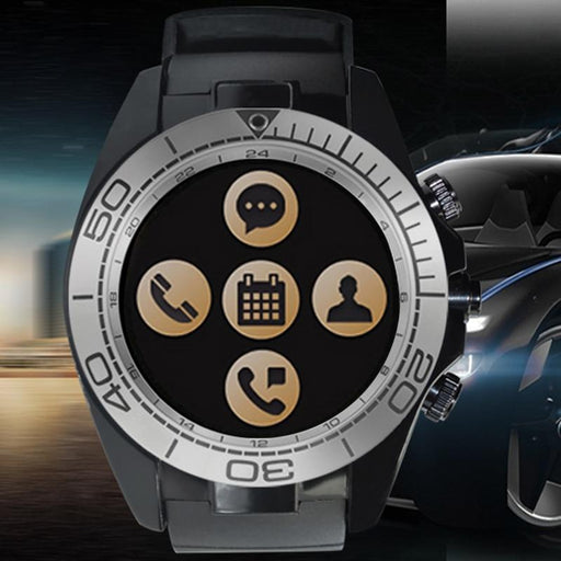 IOS Android Multiple Dials Smartwatch for Men with Bluetooth SMS Reminder - SolaceConnect.com