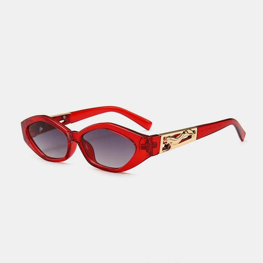 ROYAL GIRL Vintage Cat Eye Sunglasses Women 2019 Brand Designer Modern Sun Glasses Female Black - SolaceConnect.com