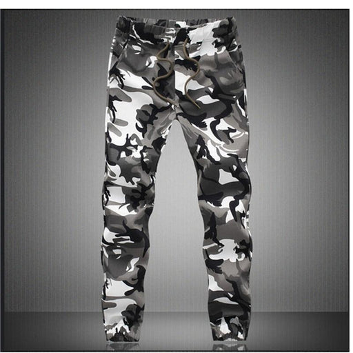 Pencil Harem Men's Jogger Pant with Camouflage Design in M-5X Size - SolaceConnect.com