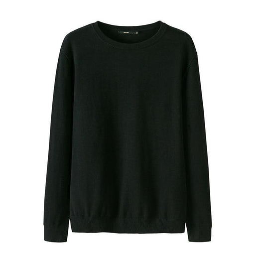 Branded Long Sleeve Knitted Cashmere Wool Sweater and Pullover for Men - SolaceConnect.com