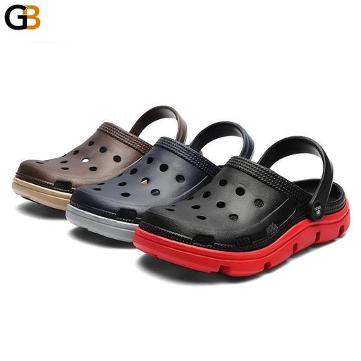 Beita Summer Sandals Men Slippers Water Shoes Outdoor Mules Clogs Breathable Barefoot Sneakers - SolaceConnect.com