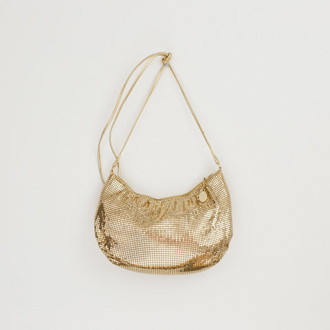 Whiting and Davis Gold Mesh Evening Bag