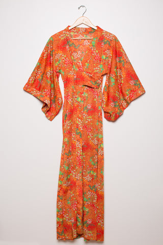 Baby Doll, Kimono Sleeved Wrap Dress