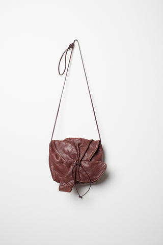 Carlos Falchi Brown Leather Purse - 1980