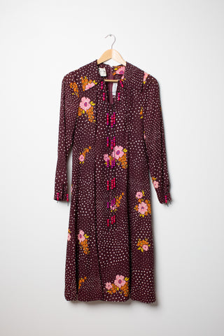 Jean Varon Boho Floral Dress - size 14