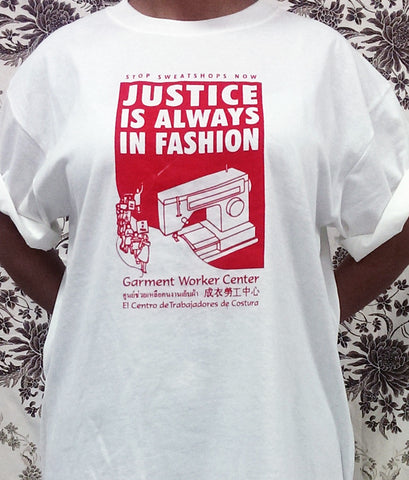 GWC Justice is Always in Fashion T-shirt