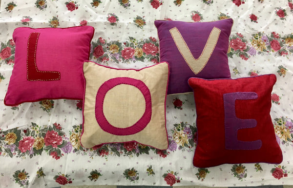LOVE Pillow Set