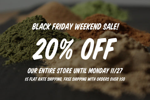 Thanksgiving & Black Friday Weekend Sale!