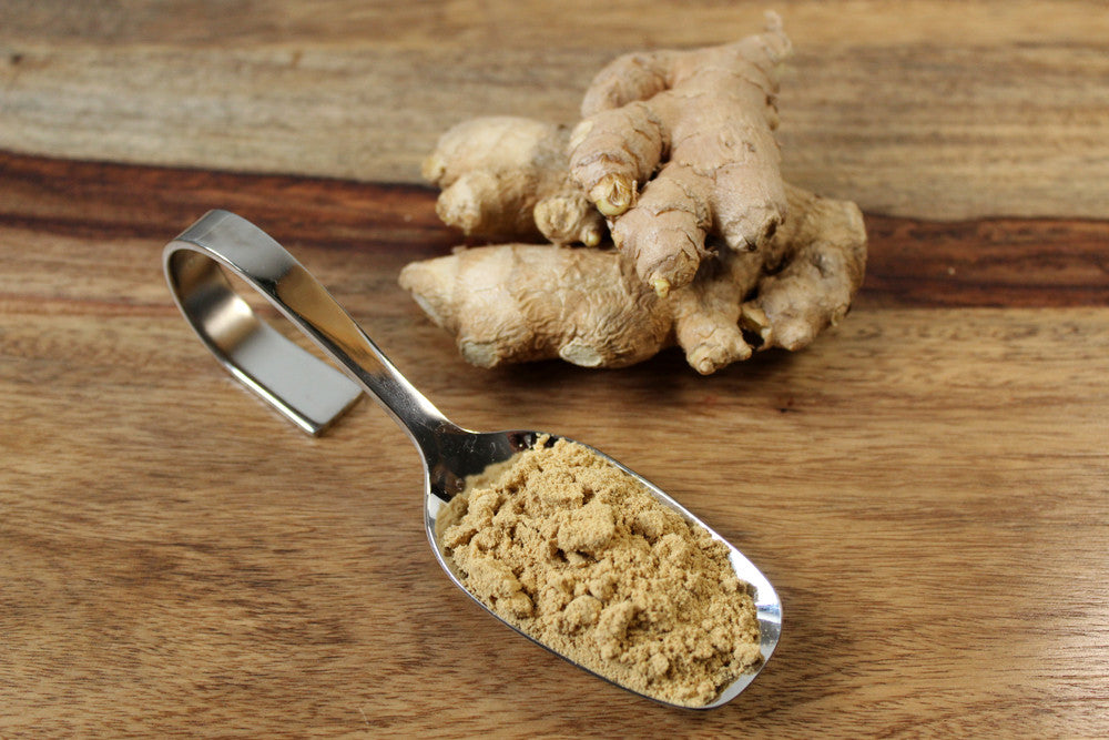 Uses & Health Benefits of Organic Ginger Powder
