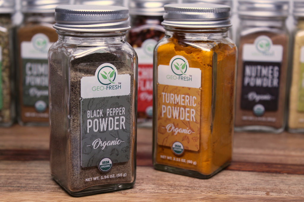 Power Couple: Turmeric & Black Pepper