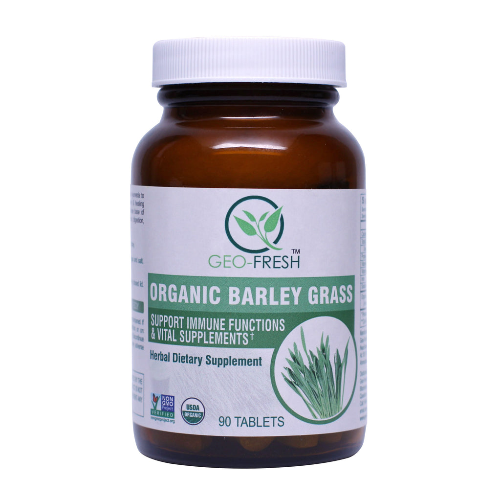 Geo-Fresh Organic Barley Grass Tablets 90 Count