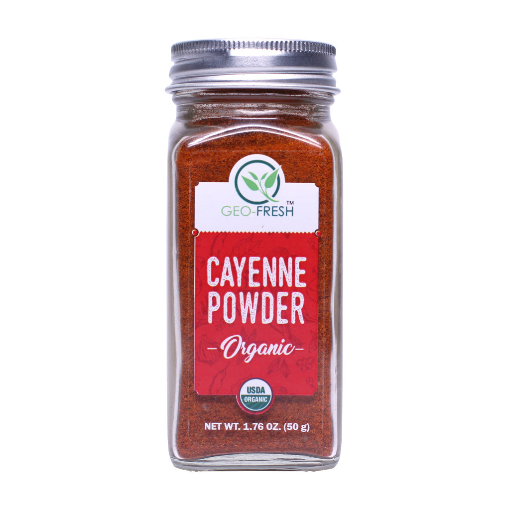 Geo-Fresh Organic Cayenne Powder 1.76 oz