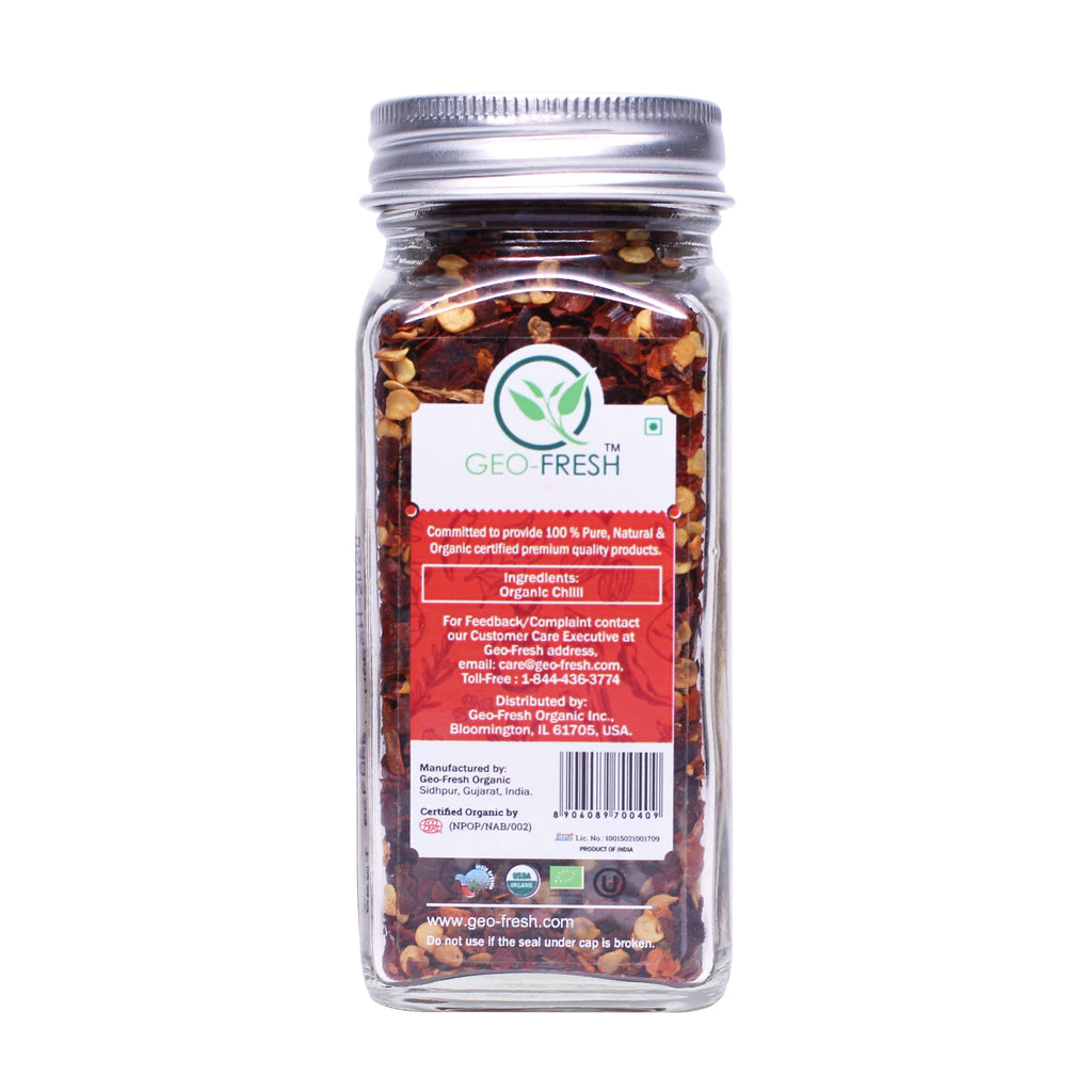 Geo-Fresh Organic Chili Flakes 1.41 oz