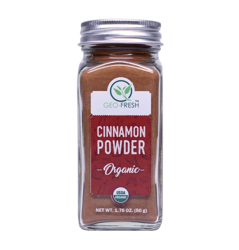 Geo-Fresh Organic Cinnamon Powder 1.76 oz